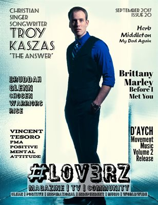 #LOV3RZ Independent Magazine September 2017