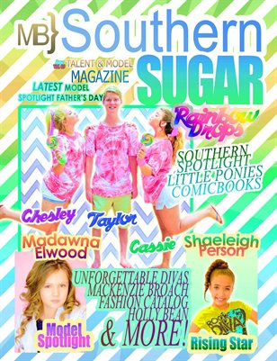 MB} Southern Sugar Talent & Model Magazine [June]