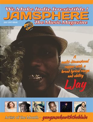 Jamsphere Indie Music Magazine July 2017