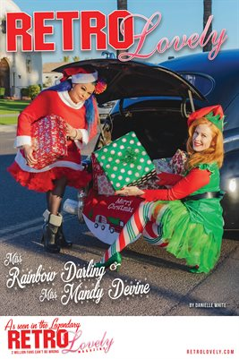 Miss Rainbow Darling & Miss Mandy DeVine Cover Poster