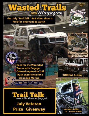 Wasted Trails 4x4 magazine July 2013 vol 3