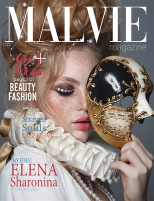 MALVIE Magazine Fashion and Beauty ISSUE 03 April 2020 - Cover 1