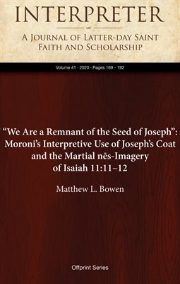 """""""We Are a Remnant of the Seed of Joseph"""""""