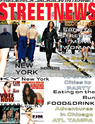 FREDERICK JACKSON TV BLOGAZINES STREETNEWS INTERNET