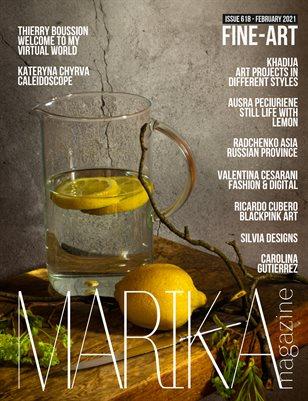 MARIKA MAGAZINE FINE-ART (ISSUE 618 - February)