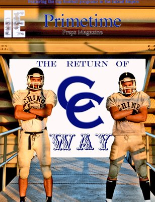 Inland Empire Prime Time Preps Magazine Chino Football Edition April 2012