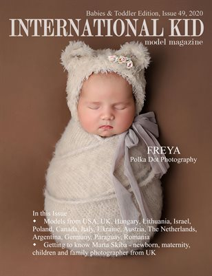 International Kid Model Magazine Issue #49