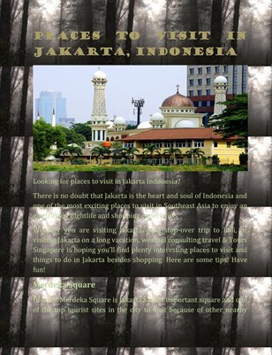Places to visit in Jakarta, Indonesia
