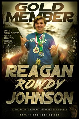 Reagan Johnson Gold Membership/Diploma Poster