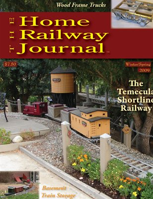 Home Railway Journal: WINTER/SPRING 2009