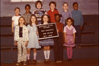 1977-1978 Western Elem School, Hickman, Fulton County, Kentucky