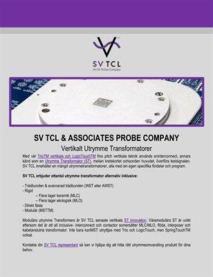 SV TCL & Associates Probe Company: Vertikalt Utrymme Transformatorer