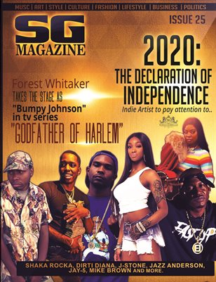 Official Scrilla Guerillaz Magazine issue #25