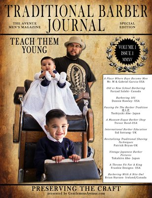 Traditional Barber Journal Vol. I, Issue I