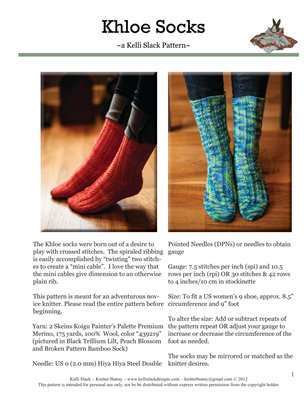 Khloe Socks