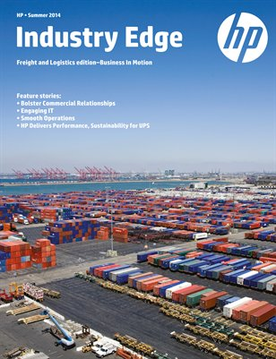 HP Industry Edge: Freight and Logistics Edition