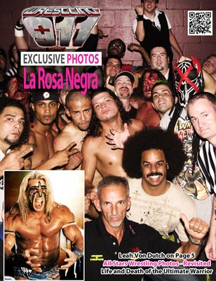 911Wrestling - Summer 2013, All Stars Wrestling Cover