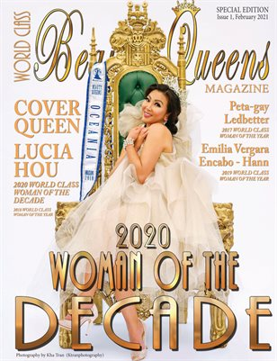 World Class Woman of the Decade, Issue 1, Lucia Hou