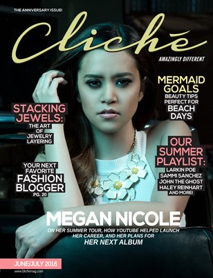 Cliché Magazine - June/July 2016 (Megan Nicole Cover)