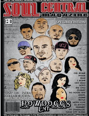Soul Central Magazine ROWDOGGS Special Edition Sept Oct Edition 2016
