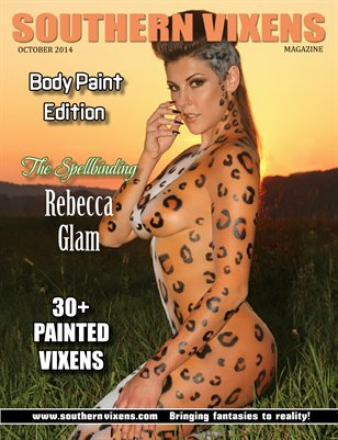 Southern Vixens Magazine October 2014 Body Paint Edition