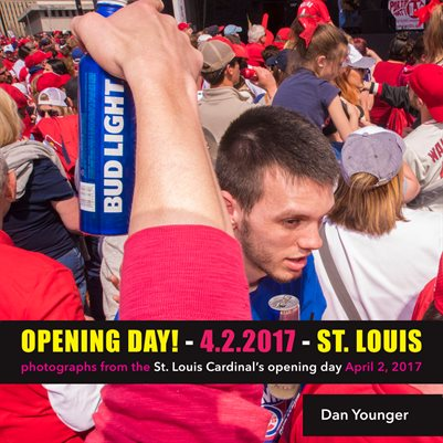 Opening Day! Photographs from the Saint Louis Cardinals' opening day.
