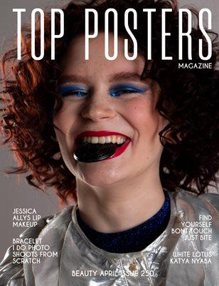 TOP POSTERS MAGAZINE- BEAUTY, APRIL(vol 250)