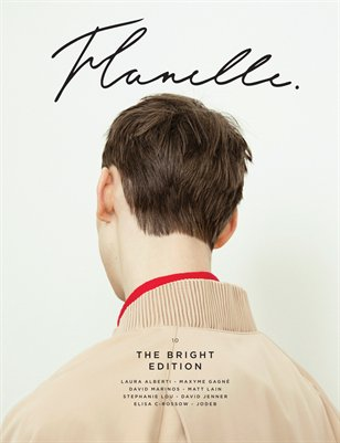 Flanelle Magazine Issue 10 - The Bright Edition Cover 2