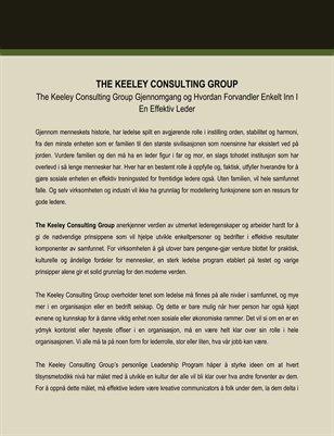 The Keeley Consulting Group Gjennomgang og Hvordan Forvandler Enkelt Inn I En Effektiv Leder