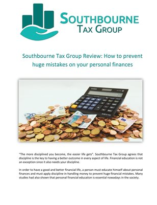 Southbourne Tax Group Review: How to prevent huge mistakes on your personal finances