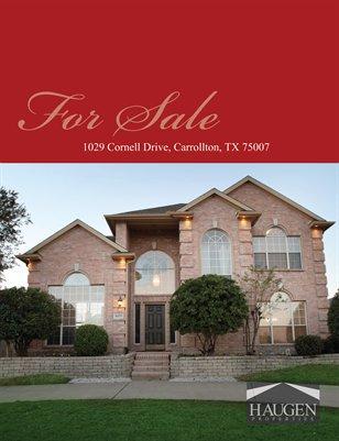 Haugen Properties - 1029 Cornell Drive, Carrollton, Texas 75077
