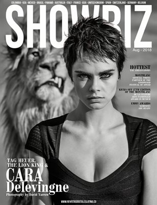 SHOWBIZ Mag - Aug/2018 - #7