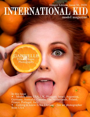 "International Kid Model Magazine Issue 56 ""Ginger Edition"""