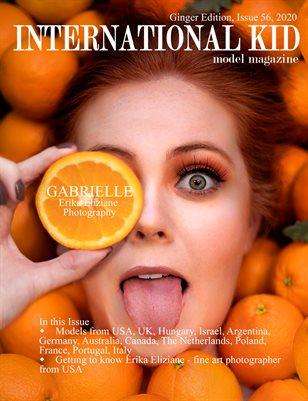 "International Kid Model Magazine Issue 56 ""Ginger Edition"""