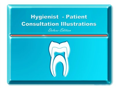 Hygienist-Patient Consultation Illustrations - Deluxe Edition