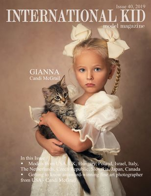 International Kid Model Magazine Issue #40