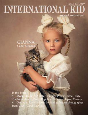 International Kid Model Magazine Issue #40