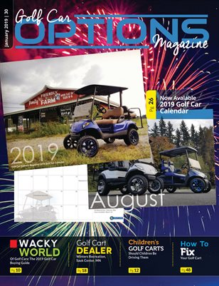 Golf Car Options Magazine - January 2019