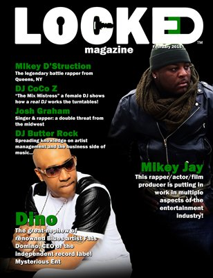 LOCKED Magazine February 2015 Issue