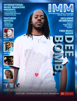 DEE BOMB - IMM SPECIAL ISSUE FOR JULY