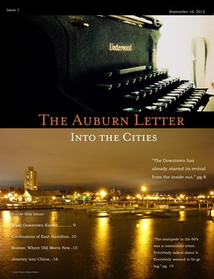 The Auburn Letter: CITIES