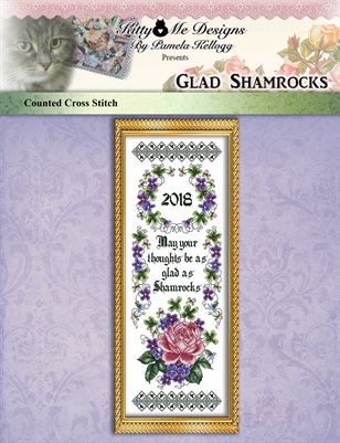 Glad Shamrocks Cross Stitch Pattern