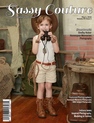 Sassy Couture Magazine Indiana Jones May Issue