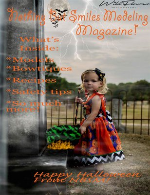 Nothing But Smiles Modeling Magazine!! Happy Halloween 2015!