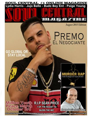 Soul Central Magazine August Edition 2015