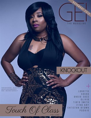 "November 2016 ""Touch Of Class Vol I"" Issue"