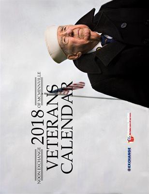2018 Veterans Calendar