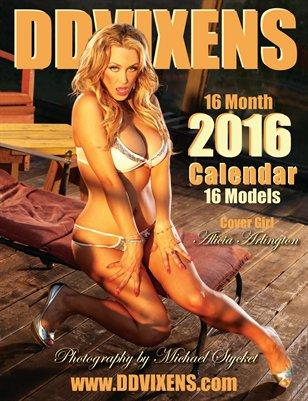 DDVIXENS 2016 Calendar