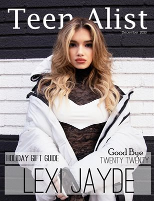 TEEN A-LIST Magazine December 2020