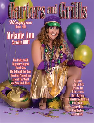 Melanie Ann Smokin Hot Mardi Gras